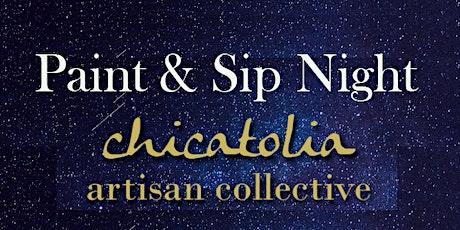 Chicatolia Paint party night!! tickets
