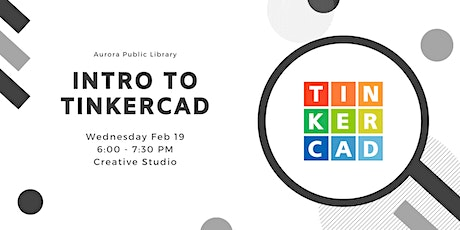 Introduction to Tinkercad tickets