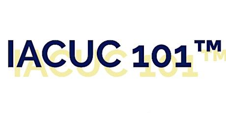PCLA hosting IACUC 101 tickets