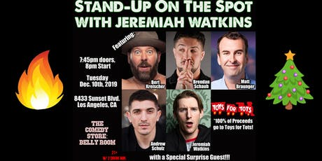 Stand Up On The Spot with Jeremiah Watkins tickets