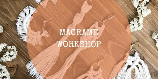 Macrame Earrings and Keychains Workshop