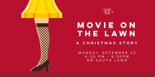Movie on the Lawn - A Christmas Story