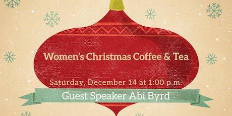 Women's Christmas Coffee and Tea tickets