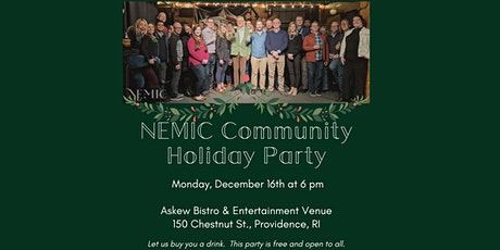 NEMIC Community Holiday Party tickets