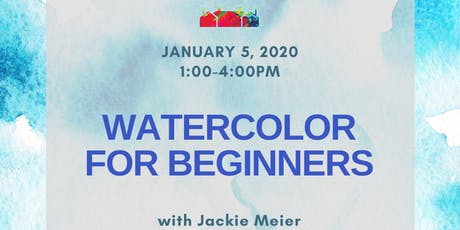 Watercolor for Beginners with Jackie Meier tickets