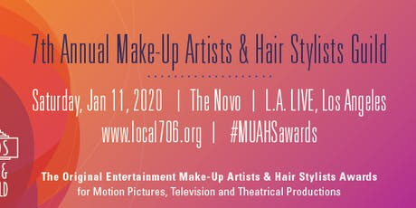 7th Annual Make-Up Artists & Hair Stylists Guild Awards tickets