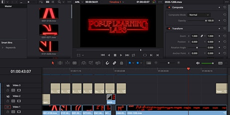 Video Editing with DaVinci Resolve Part I tickets