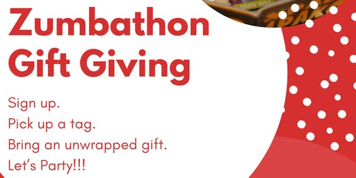 Zumbathon Gift Giving