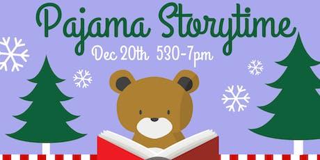 USO Holiday Pajama Storytime tickets