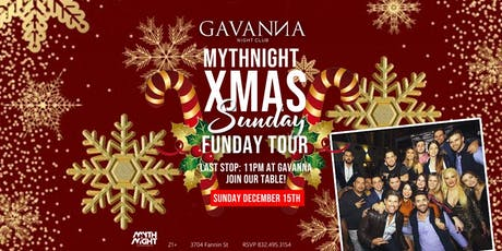 Mythnight Xmas Sunday Funday Tour tickets