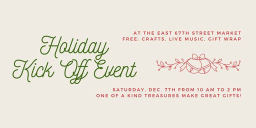 Holiday Kick-Off Event at East 67th Street Farmers Market