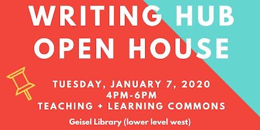 Writing Hub Open House