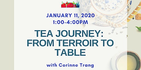A Tea Journey: From Terroir to Table tickets