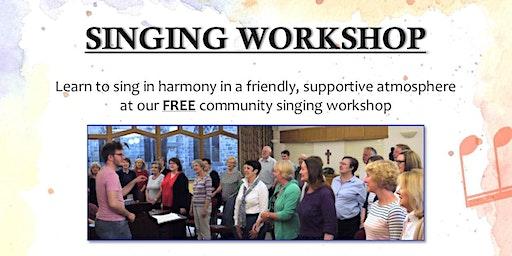 *FREE* Singing Workshop