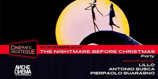 The Nightmare Before Christmas party • Cinematic Discoteque