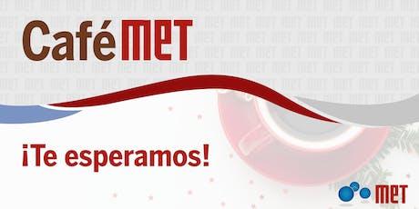 CaféMET: El poder de las redes tickets