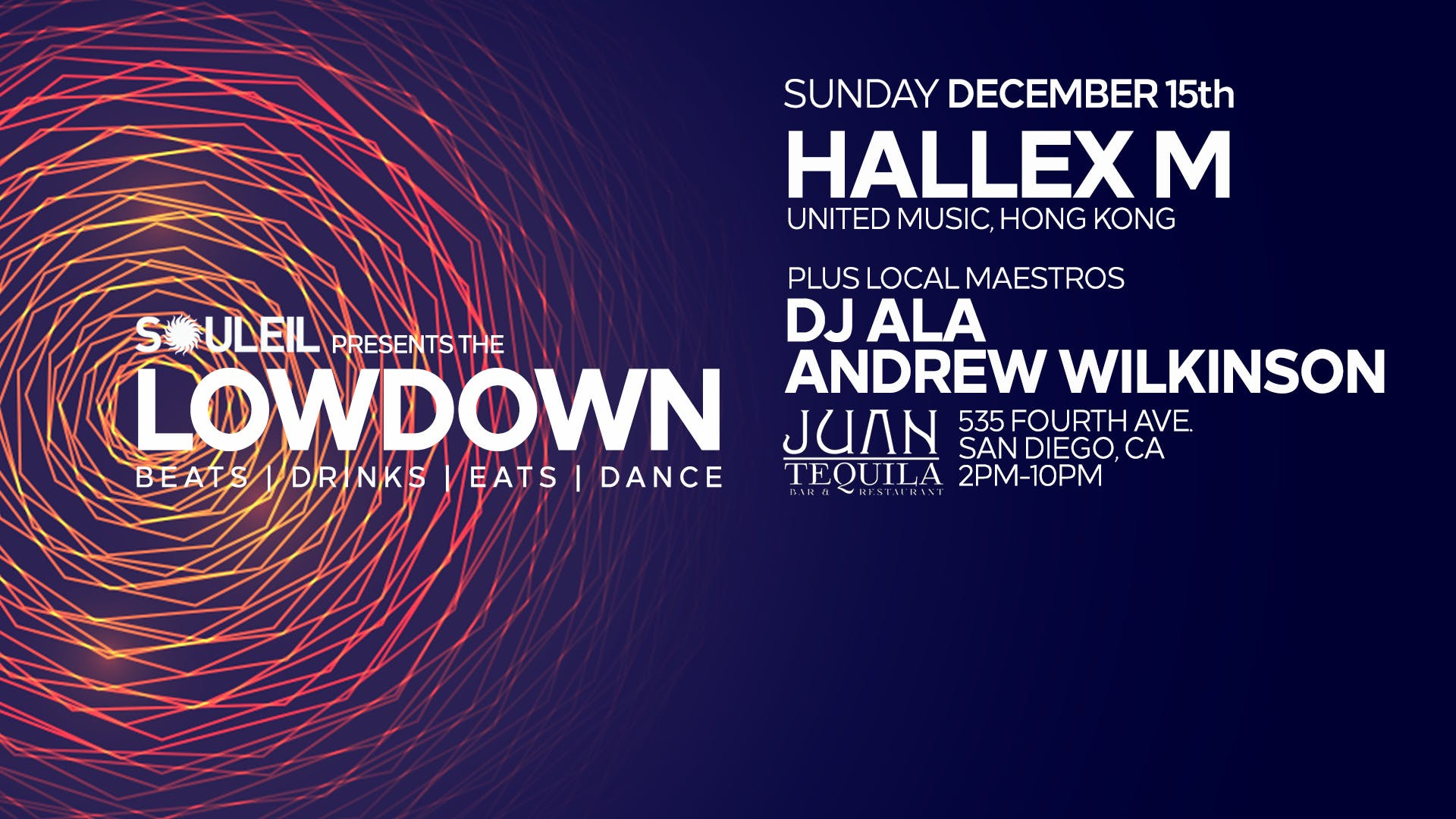 Souleil presents The Lowdown with Hallex M