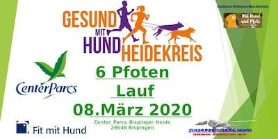 6 Pfoten Lauf - Gesund mit Hund Heidekreis- Center Parcs Bispinger Heide