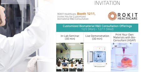 BBB: Bring Your Biomaterials to Bioprint tickets