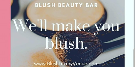 Blush Beauty Bar and Makeup Lounge tickets