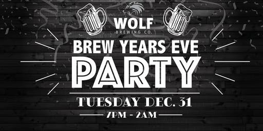 Brew Year's Eve Party!