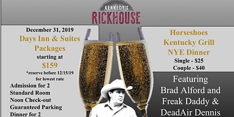New Year's Eve Party @ Kennedy's Rick House tickets