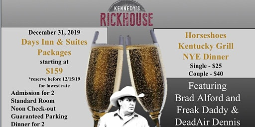 New Year's Eve Party @ Kennedy's Rick House