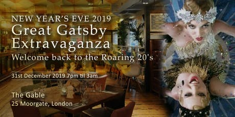 NYE 2019 – Great Gatsby Extravaganza! tickets