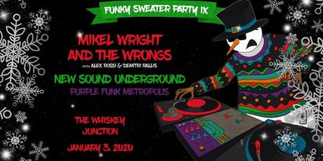 *Whiskey Junction* Funky Sweater Party IX tickets