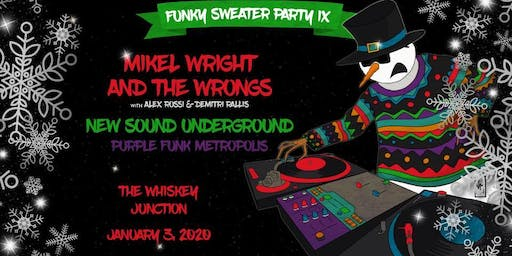 *Whiskey Junction* Funky Sweater Party IX