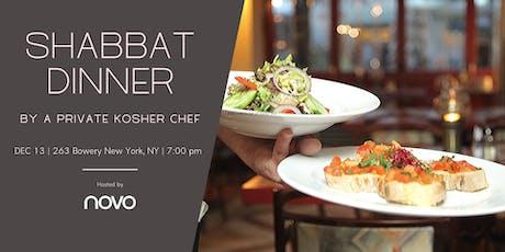 Shabbat Dinner by a Private Kosher Chef @NOVO tickets