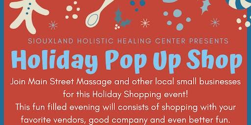 Holiday Pop Up Shop At Siouxland Holistic Healing Center
