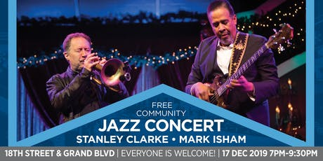 Jazz Concert with Stanley Clarke and Mark Isham ingressos