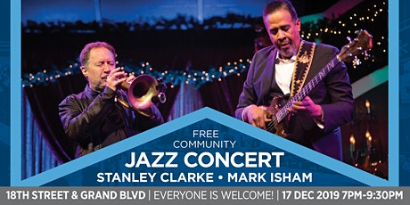 Jazz Concert with Stanley Clarke and Mark Isham ingressos