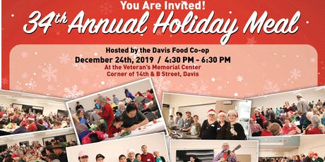 34th Annual Holiday Meal tickets