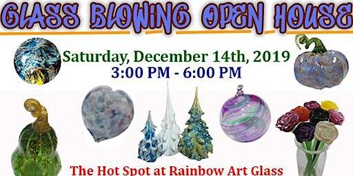 FREE Open House Glassblowing