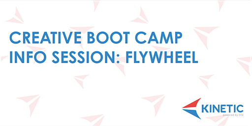 Kinetic Creative Boot Camp Info Session at Flywheel Coworking
