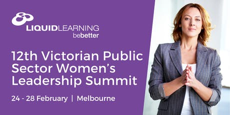 12th Victorian Public Sector Women's Leadership Summit tickets