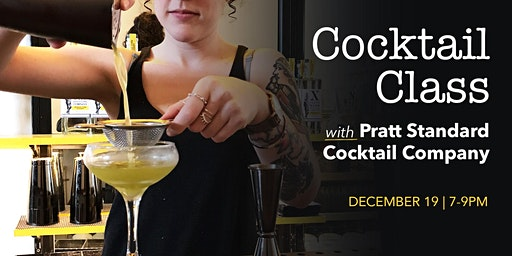 Cocktail Class at Tenth Ward
