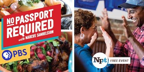 NPT's Free NO PASSPORT REQUIRED Screening & Tasting tickets