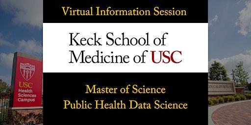 USC MS in Public Health Data Science Virtual Info Session