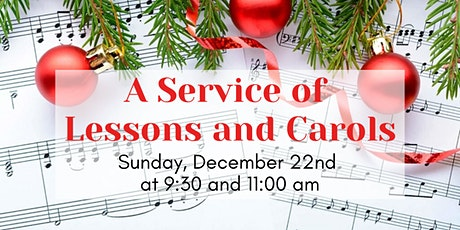 A Service of Lessons and Carols tickets