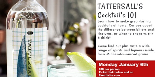 Tattersall Cocktail Experience 101