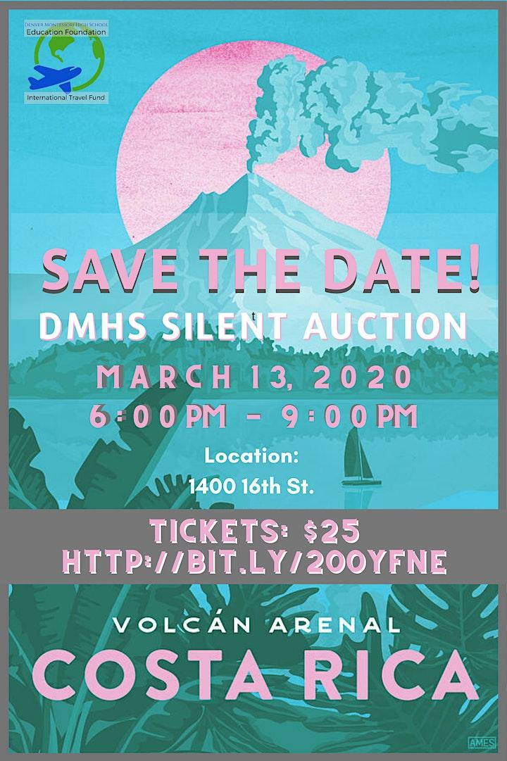 Denver Montessori High School Silent Auction 2020 image