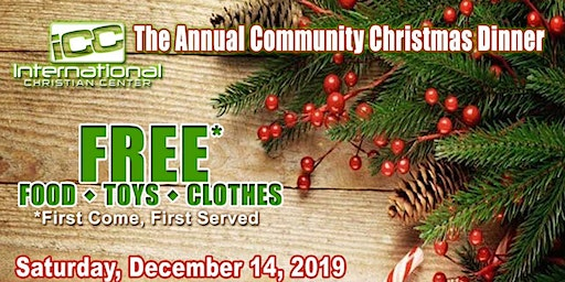 ICC's Annual Christmas Outreach: Free Lunch with Toys & Clothes Giveaway