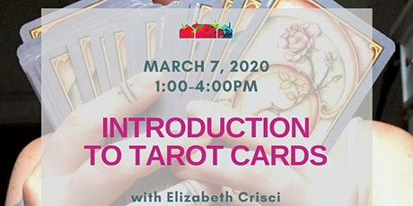 Intro to Tarot Cards with Elizabeth Crisci tickets