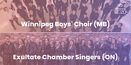 Winnipeg's Boys Choir (MB) | Exultate Chamber Singers (ON) tickets