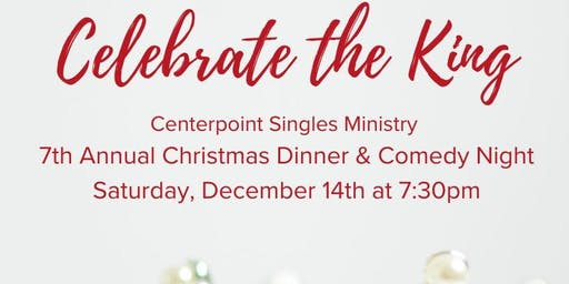 Adult Singles' Christmas Dinner Party & Comedy Night