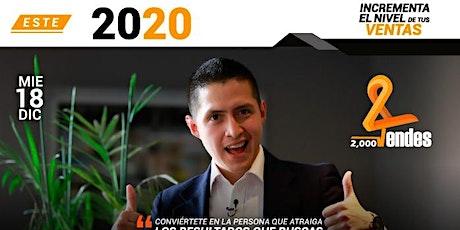 2000 VENDES( Este 2020 si logras tus metas) entradas