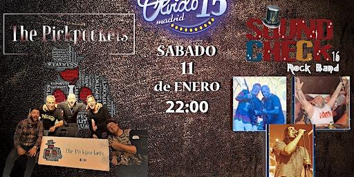 THE PICKPOCKETS + SOUNCHECK16   SALA OLVIDO